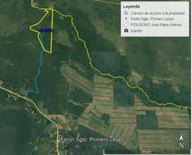 CAMPO EN FORMOSA - ZONA PRODUCTIVA - GANADERÍA Y AGRICULTURA - FORTIN LEYES - 10KM DE RUTA 86 - CASA SOBRE RUTA Y PUESTO