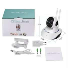 Cámara Robótica 3 Antenas Vision Nocturna 360º Wifi 1080p Micro Sd