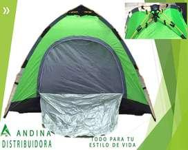 Carpa Plegable Automatica 2 y 3 Personas Camping