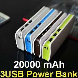 Cargador portatil Power Bank.