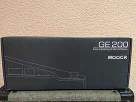 Pedalera mooer ge200 (nuevo)