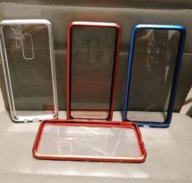 Carcasa Magnetica Dual Color Samsung S9  S9 Plus