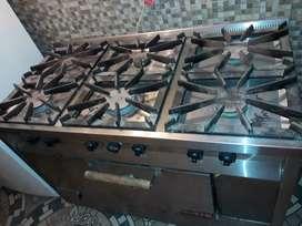 Vendo cocina industrial marca SOL REAL