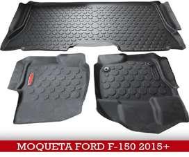 Moquetas Ford F150 termoformadas 3D