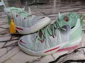 Tenis en bota Nike Lebron 18 Caballero