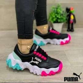 Zapatos deportivos Puma para Dama