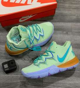 Botas Nike Kyrie 5 Bob Esponja Calamardo Verde Envio Gratis