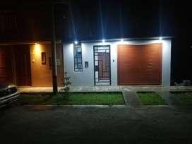 """ALQUILO LINDA CASA en Condominio """"El Haras"""" a 8 Min. Del Centro de la Ciudad"""