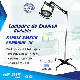 Lampara de Examen Rodable STERIS AMSCO EXAMINER 10