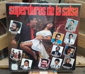 Long Play Lps Acetato Pasta Vinyl Vinilo Superduros De La Salsa