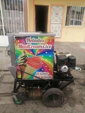 Maquina helados mantecados