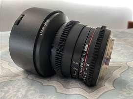 Samyang 14mm T3.1 Cine Lens Canon EF-Mount