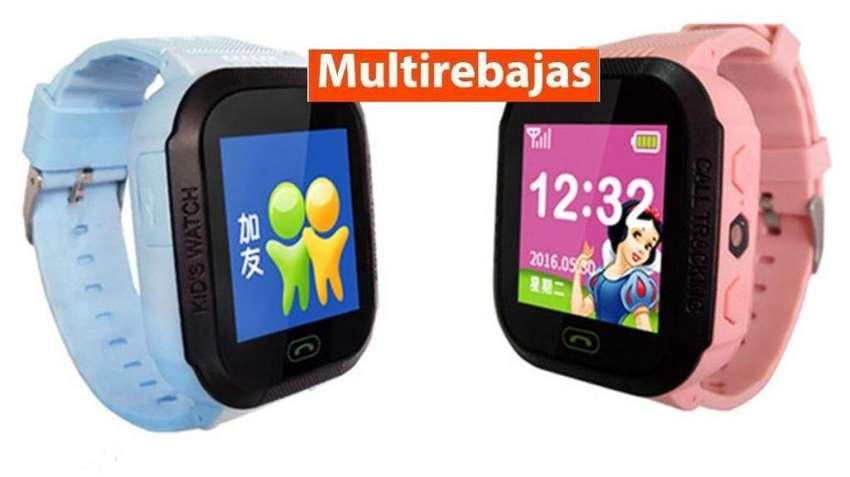 Reloj Gps Niños Pulsera Teléfono Smartwatch Celular 0
