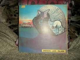 Emerson Lake & Palmer. Vinilo Tarkus. 1973.