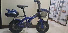 Bicicleta para niño color azul