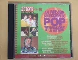 CD La Mejor Coleccion de Pop Internacional de la Historia N 10