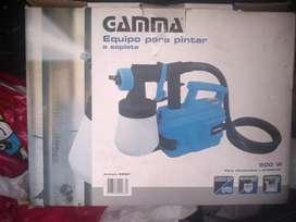 Máquina de pintar gamma 500 w a compresor