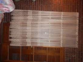 jgo de cortinas caladas usadas