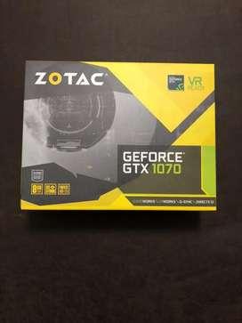 GeForce GTX 1070 8gb ZOTAC