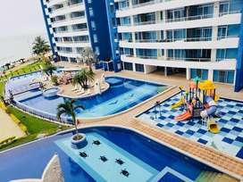 Diamond Beach Tonsupa Dpto. 3 dormitorios  en Renta Temporal