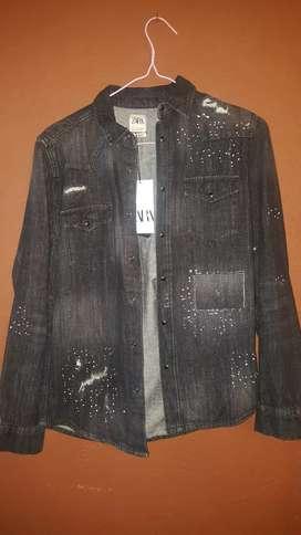 Camisa Zara Talla S 45