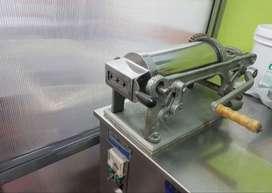 Churrera industrial 3 bocas