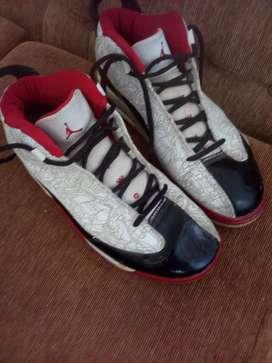 Nike Jordan Dub Zero Air Blanco Rojo Par