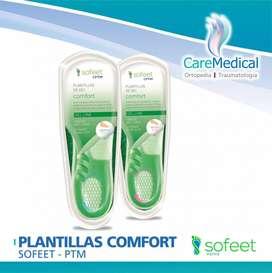 Plantillas Confort Sofeet - PTM - Ortopedia Care Medical