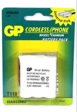 Batería Para Teléfono Inalámbrico 3.6v 600mah T110 Gp