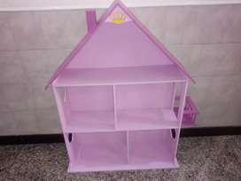 Vendo casita para nenas pintada