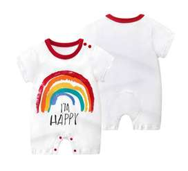 Mameluco Estampado Arcoiris -  Ropa Para Bebé