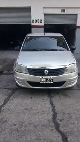 Renault Logan GNC 2012 FINANCIADO