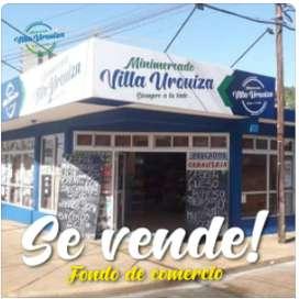 Vendo o permuto Fondo de Comercio Minimercado Villa Urquiza. Despensa, verdulería y Carnicería.