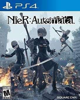 Nuevos videojuegos de PS4 Nier Automata