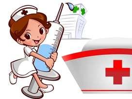 Cuidadora de pacientes y adultos mayores