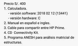 HP PRIME DE SEGUNDA EN BUEN ESTADO