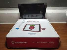 Raspberry 7 Pantalla Táctil Más Carcasa