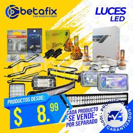 FOCOS LUZ LED BARRAS Y TIRAS LED LUZ DE SALON BETAFIX DESDE