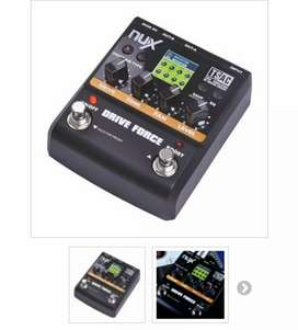 Pedalera NUX Drive Force