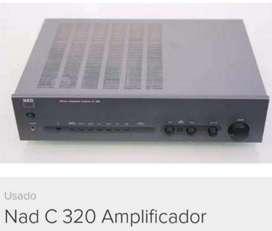 Amplificador Nad C 320 - No Sansui