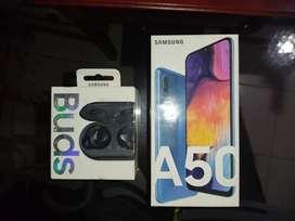 Samsung galaxi A50 + Galaxi buds originales