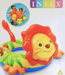 Flotador Inflable Infantil Tigre Bebe Niño Entrega Inmediata