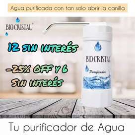 Purificador filtro de agua BIO-CRISTAL