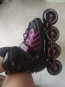 patines semi profesionales de goma