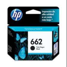 Cartucho Hewlett Packard 662 Negro