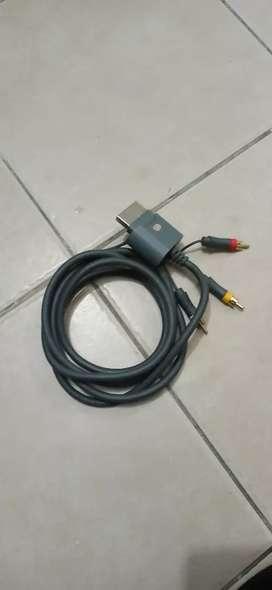 Cable Av para Xbox 360 original
