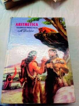 Vendo o cambio libro Aritmética de Baldor