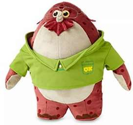 Peluche De Felpa Disney Don Carlton Plush - Monsters - Nuevo - Original