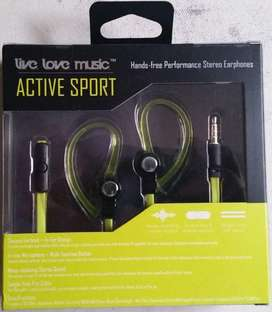 Audífonos Live Love Music Active Sport