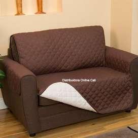 Protector De Sofá 2 Puestos Mueble Mascota CouchCoat Revercible Forro